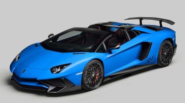 这是Lamborghini Aventador LP750-4 SV Roadster!