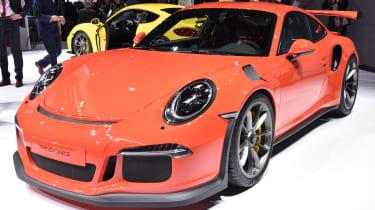 极端保时捷911 GT3卢比到达日内瓦