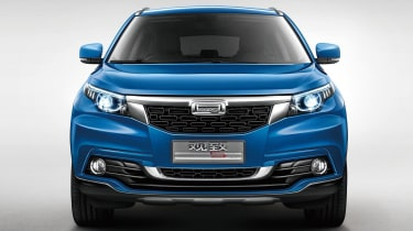Qoros 5 SUV在广州汽车展上首次亮相