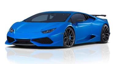 Novitec Lamborghini Huracan获得848bhp增压v10