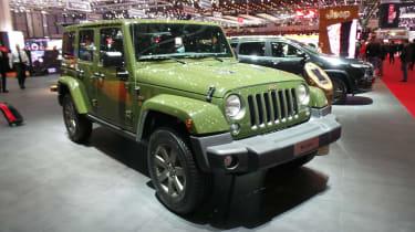Jeep在日内瓦庆祝75周年纪念模型