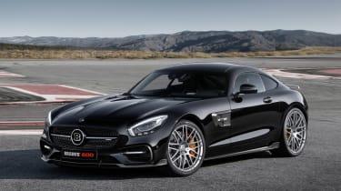 新Brabus Mercedes-AMG GT S打破了200mph屏障
