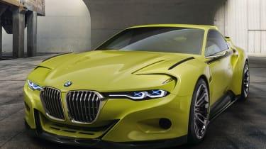 包裹令人惊叹的宝马3.0 CSL Hommage概念汽车