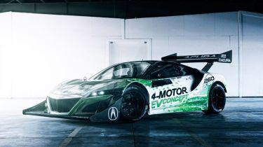 本田NSX EV概念在派克峰竞赛