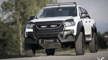 M-Sport Ford Ranger拾取获得猛禽治疗