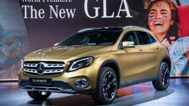 新的梅赛德斯GLA Facelift:价格和规格透露