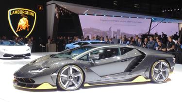 Crazy Lamborghini Centenario让视频首次亮相