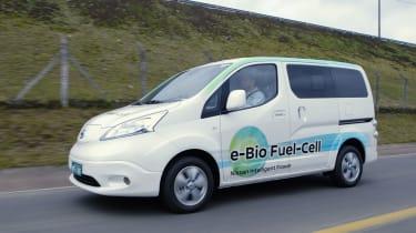 Nissan E-Bio燃料电池技术在世界第一个NV200原型中显示