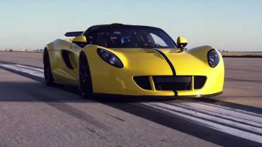 Hennessey Venom GT Spyder是世界上最快的敞篷车
