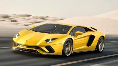Lamborghini Aventador S透露2017年,拥有730BHP