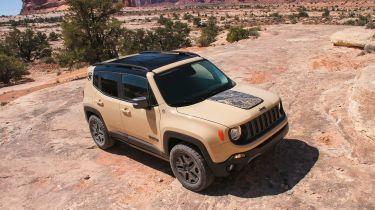 Jeep Renegades特别版为La Motor展示