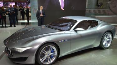 Maserati Alfieri概念成为2018年的电动特斯拉竞争对手?