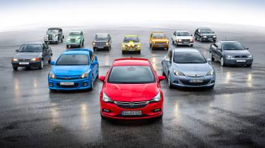 Vauxhall Astra和Opel Kadett庆祝'80岁生日'