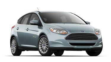 福特焦点电动获得140英里的距离和新的充电技术
