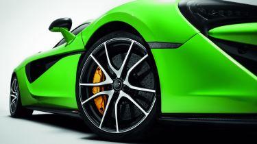 迈凯轮揭示了540℃,570s和570Gt的新配件