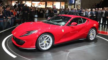 Ferrari 812 Superfast在日内瓦透露,789bhp v12