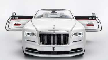 Rolls-Royce Dawn由时尚透露