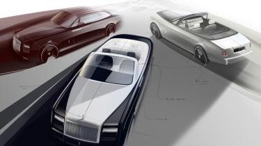 Rolls-Royce'Zenith Collection'是幻影的告别