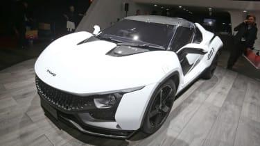 Tata Sub品牌Tamo揭示了其Racemo跑车