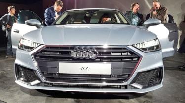 新的2018奥迪A7 Sportback在所有发动机上用杂交技术亮相