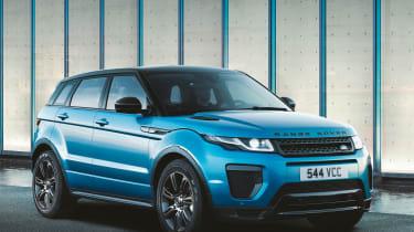 Range Rover Evoque地标版庆祝600K销售