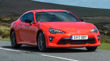有限公司丰田GT86橙色版启动新俱乐部系列型号