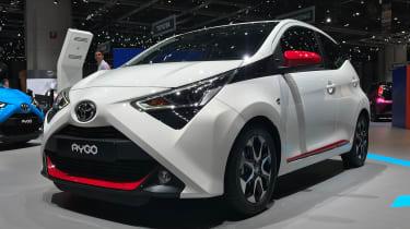 丰田AYGO Facelift使日内瓦电机展开首次亮相