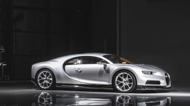 2017 Bugatti Chiron在42秒内完成0-249-0mph
