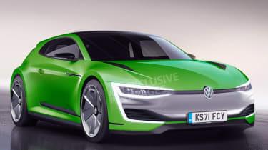 Volkswagen Scirocco要重生为热门电动轿跑车