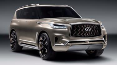 Infiniti在纽约电机展上揭示了QX80专着SUV概念
