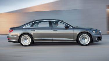 """新奥迪A8的自我驾驶技术用来使用""""地理围栏""""来遵守当地交通法律"""
