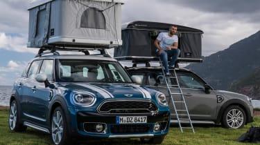 您现在可以为Mini Countryman购买2,400英镑的屋顶帐篷