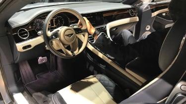 2018年新的Bentley Continental GT在法兰克福展出