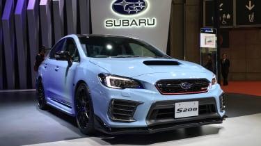 Subaru启动限量版S208 WRX STI