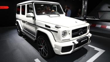 Mercedes-AMG G 63和G 65独家版本在法兰克福首次亮相