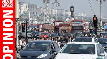 """""""英国的道路比邻居的道路更忙,而且它不公平'"""
