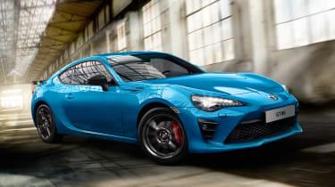 丰田GT 86俱乐部系列蓝版推出