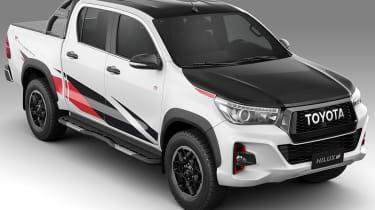 新丰田Hilux GR Sport为巴西市场透露