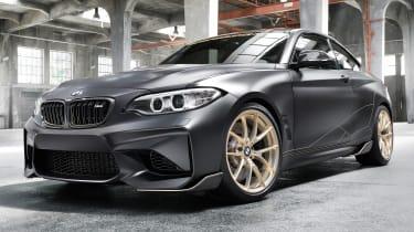 BMW M Performance零件概念预览了新的轻量级M2零件