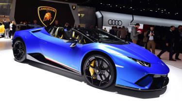 Lamborghini Huracan表演者Spyder揭示了