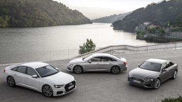 奥迪A6 Saloon,Avant和A7 Sportback获得新的40 TDI发动机