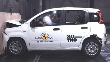 "Fiat Panda获得""震惊""零星NCAP崩溃测试评级"