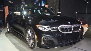 新的369BHP BMW M340I XDrive在La Motor展中释放出来
