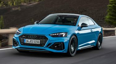 奥迪RS 5轿跑车和运动型号可获得2020个调整