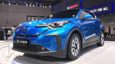 新丰田C-HR EV使上海电机展开首次亮相