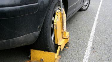 输入错误的数字板细节的司机免于停车罚款
