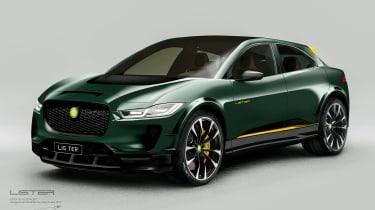 新的列表SUV-E概念揭示了Jaguar I-Pace的热门