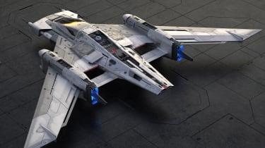 保时捷和卢卡斯菲尔揭开了概念星级战斗机