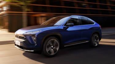 新的NIO EC6电动SUV可推出高达382英里范围