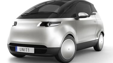 新的全电机统一一市汽车推出